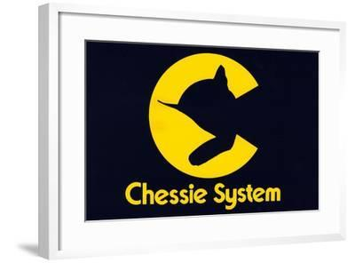 Chessie Systems Logo--Framed Giclee Print