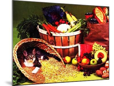 Chessie's Feast--Mounted Giclee Print
