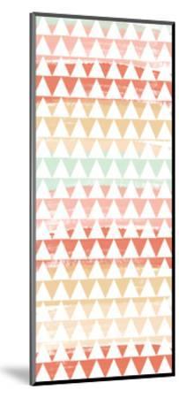 Triangle Multi-Linda Woods-Mounted Art Print