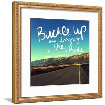 Enjoy the Ride-Linda Woods-Framed Art Print