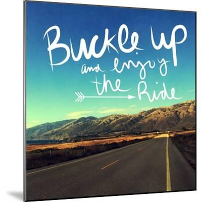 Enjoy the Ride-Linda Woods-Mounted Art Print
