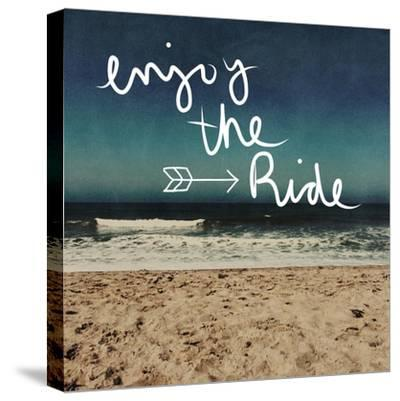 Enjoy the Ride-Linda Woods-Stretched Canvas Print
