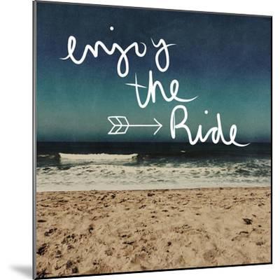 Enjoy the Ride-Linda Woods-Mounted Premium Giclee Print