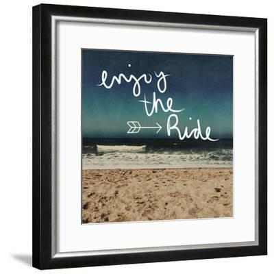 Enjoy the Ride-Linda Woods-Framed Art Print