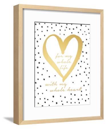 Whole Heart-Jo Moulton-Framed Premium Giclee Print