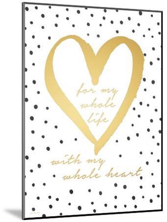 Whole Heart-Jo Moulton-Mounted Premium Giclee Print