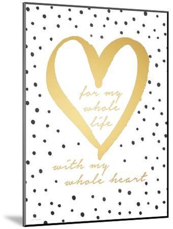 Whole Heart-Jo Moulton-Mounted Art Print