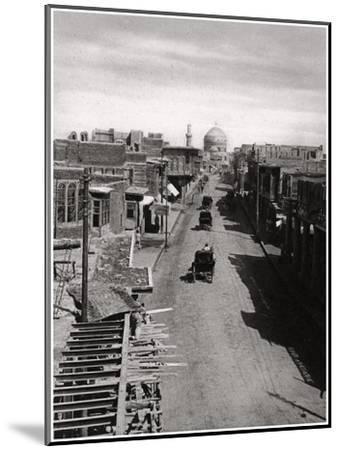 A Street in Baghdad, Iraq, 1925-A Kerim-Mounted Giclee Print