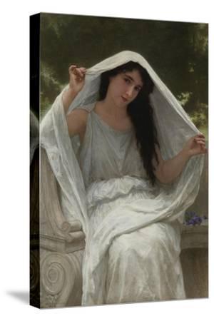 Veil-William-Adolphe Bouguereau-Stretched Canvas Print