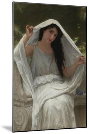 Veil-William-Adolphe Bouguereau-Mounted Giclee Print