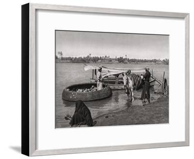 Transport in Iraq, 1925-A Kerim-Framed Giclee Print