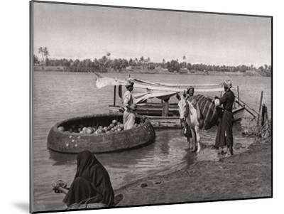 Transport in Iraq, 1925-A Kerim-Mounted Giclee Print