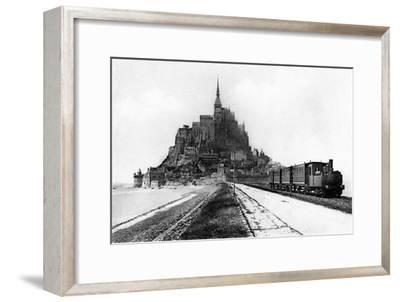 Mont-Saint-Michel, 20th Century-A L'Hermine-Framed Giclee Print