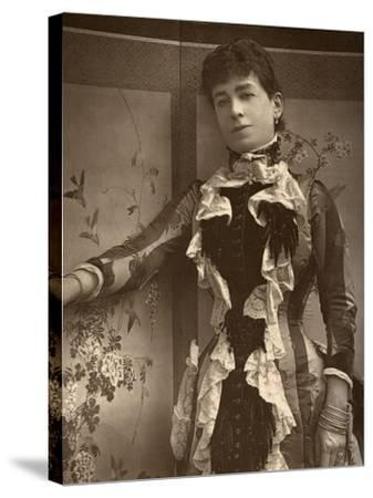 British Actress Lady Monckton in Jim the Penman, 1886- Barraud-Stretched Canvas Print