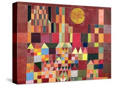 Castle and Sun-Paul Klee-Stretched Canvas Print