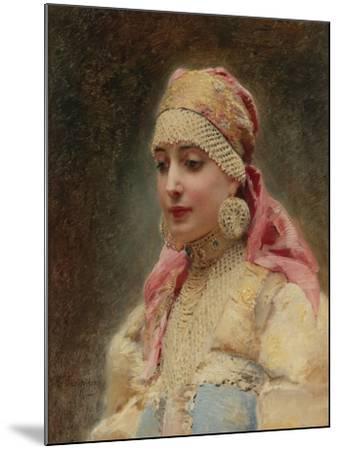 Boyar's Wife-Konstantin Yegorovich Makovsky-Mounted Giclee Print