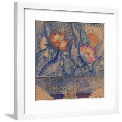 Stage Design-Kuzma Sergeyevich Petrov-Vodkin-Framed Giclee Print