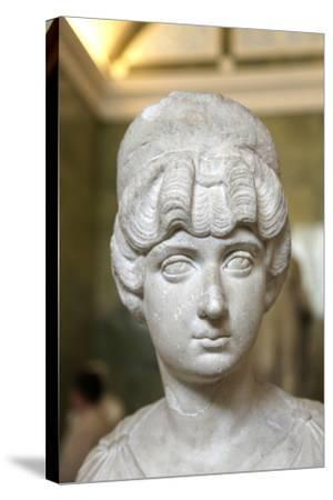 Portrait Bust of Lucilla, Wife of the Roman Emperor Lucius Verus, C160-C170--Stretched Canvas Print