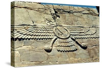 Ahura Mazda, Persepolis, C500 Bc--Stretched Canvas Print