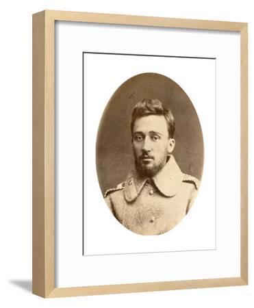 Vsevolod Garshin, Russian Author, 19th Century-A Engel-Framed Giclee Print