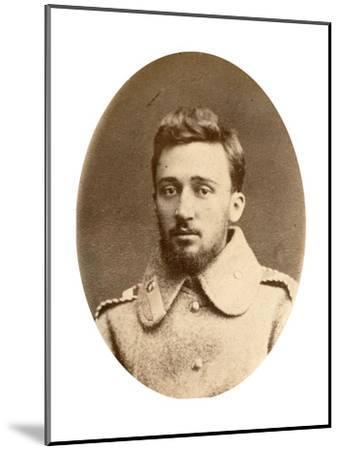 Vsevolod Garshin, Russian Author, 19th Century-A Engel-Mounted Giclee Print