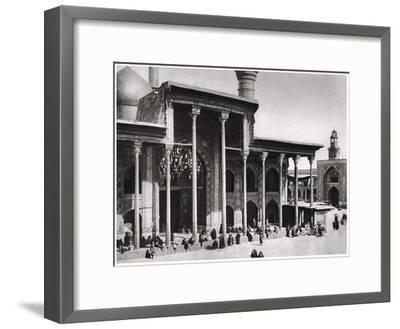 The Entrance Gate of the Kadimain Mosque Leading to the Tomb of the Imam Moosa Al Kadim, 1925-A Kerim-Framed Giclee Print
