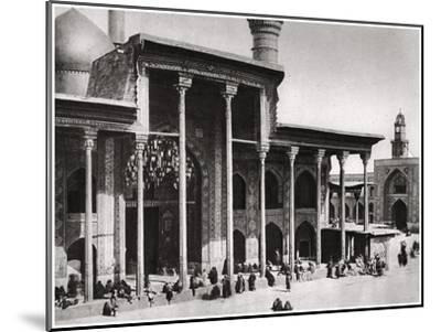 The Entrance Gate of the Kadimain Mosque Leading to the Tomb of the Imam Moosa Al Kadim, 1925-A Kerim-Mounted Giclee Print