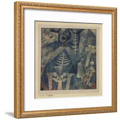 The Bell!-Paul Klee-Framed Giclee Print