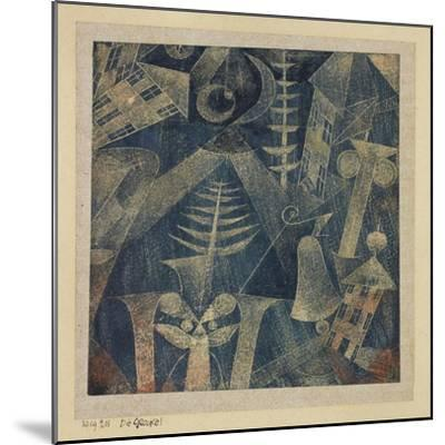 The Bell!-Paul Klee-Mounted Giclee Print