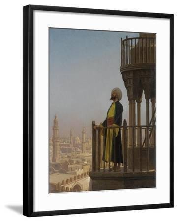 A Muezzin-Jean-L?on Ger?me-Framed Giclee Print
