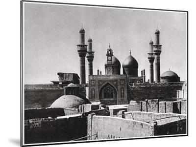 The Golden Domes and Minarets of the Al-Kadhimiya Mosque, Baghdad, Iraq, 1925-A Kerim-Mounted Giclee Print