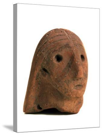 Female Head, 2nd Half of the 3rd Millenium BC--Stretched Canvas Print