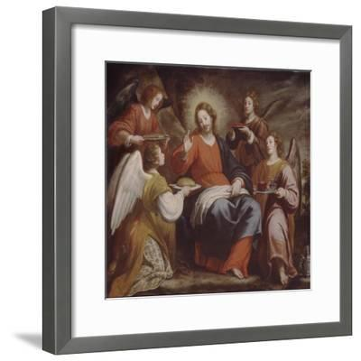 Angels Ministering to Christ in the Wilderness-Matteo Rosselli-Framed Giclee Print