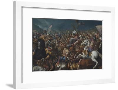 The Fight Between Scipio Africanus and Hannibal, C. 1616-1618-Bernardino Cesari-Framed Giclee Print