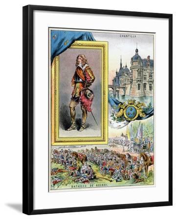 Louis II De Bourbon, Prince De Condé, 1898--Framed Giclee Print