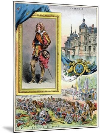Louis II De Bourbon, Prince De Condé, 1898--Mounted Giclee Print
