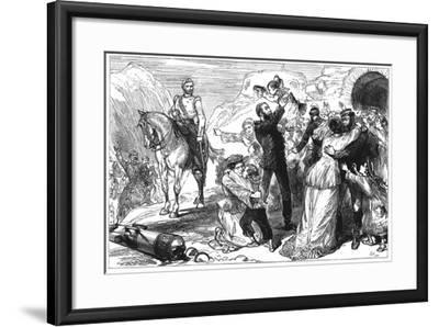 First Anglo-Afghan War 91838-184), C1880--Framed Giclee Print