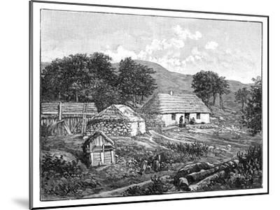 Highland Cottages in Lochaber, Scotland, 1900--Mounted Giclee Print