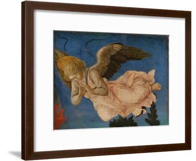 Angel (Panel of the Pistoia Santa Trinità Altarpiec), 1455-1460-Francesco Di Stefano Pesellino-Framed Giclee Print