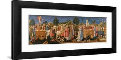 The Triumphs of Love, Chastity, and Death, C. 1450-Francesco Di Stefano Pesellino-Framed Giclee Print