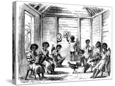 A Dominican School, Santo Domingo, 1873--Stretched Canvas Print