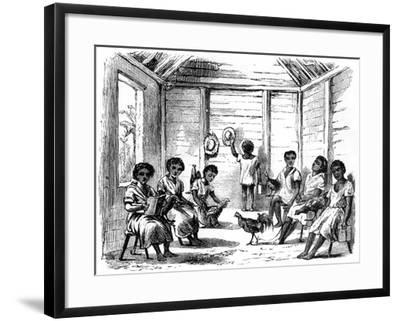 A Dominican School, Santo Domingo, 1873--Framed Giclee Print