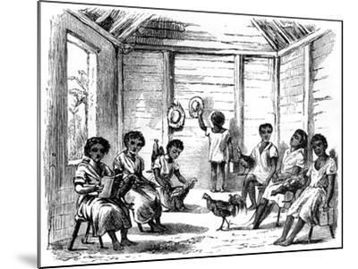 A Dominican School, Santo Domingo, 1873--Mounted Giclee Print