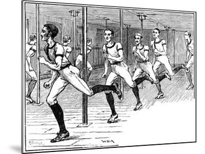 Ymca Gymnasium, Longacre, London, 1887--Mounted Giclee Print