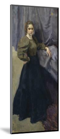 Portrait of the Painter Yelizaveta Martynova (1868-190), 1896-Osip Emmanuilovich Braz-Mounted Giclee Print