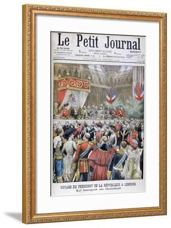 A Banquet for the Visiting French President, Guildhall, London, 1903--Framed Giclee Print