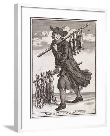 Buy a Rabbet a Rabbet, Cries of London-Marcellus Laroon-Framed Giclee Print