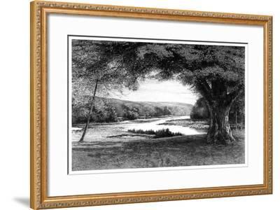 The Vale of Avoca, 1895-Joseph Francis Walker-Framed Giclee Print
