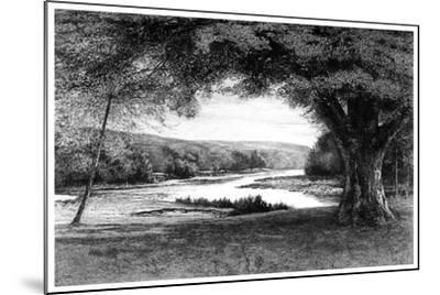 The Vale of Avoca, 1895-Joseph Francis Walker-Mounted Giclee Print