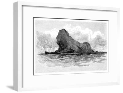 Lion Island, Australia, 1886--Framed Giclee Print